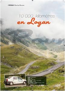 10000kms en Logan BOREL GPL partie 1